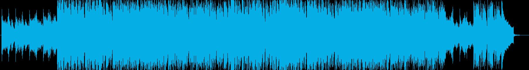 おどろおどろしい物の怪さんの楽曲の再生済みの波形