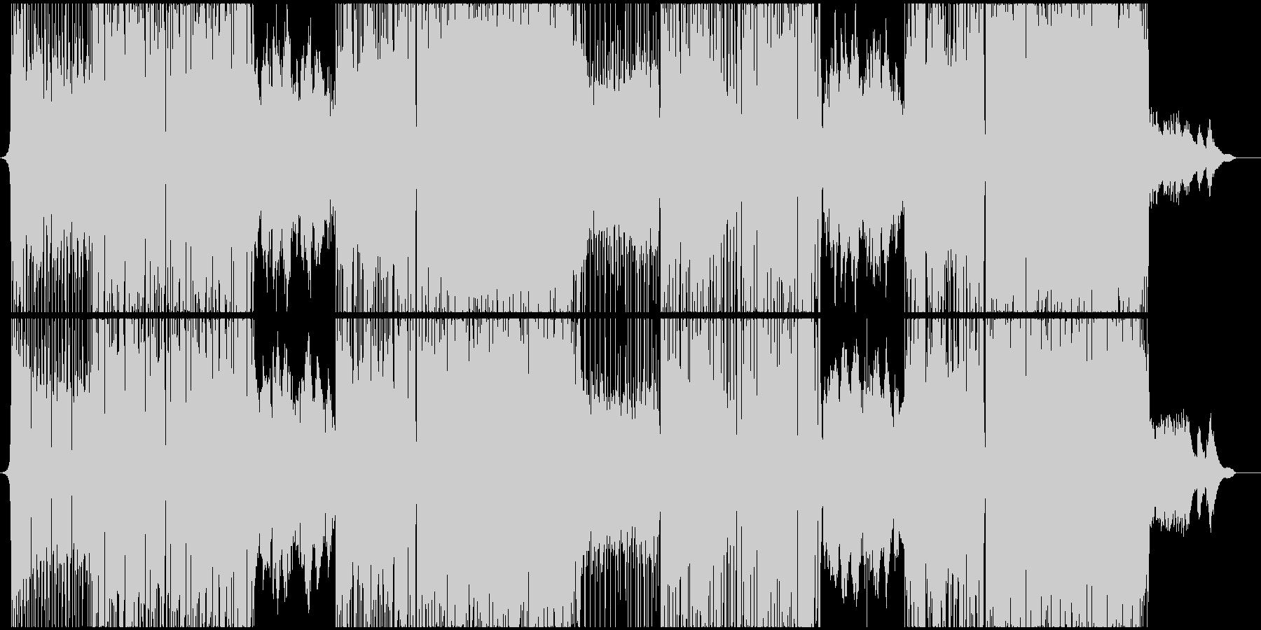【熱血】疾走感エレクトロRockの未再生の波形
