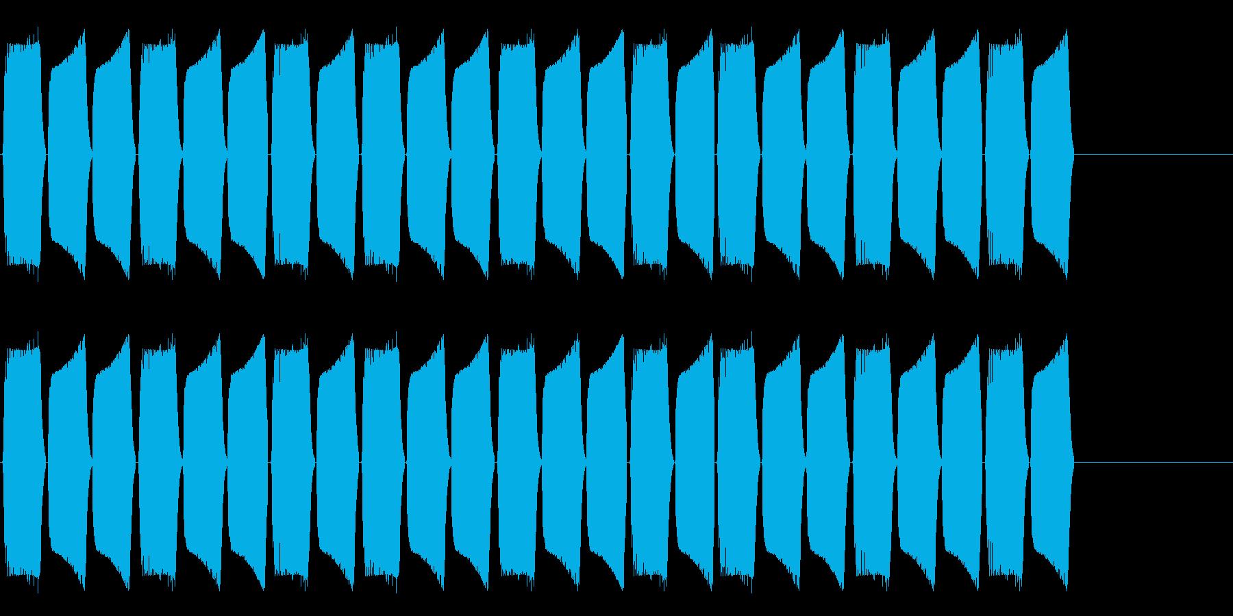 KANTブパ自主規制音2longの再生済みの波形