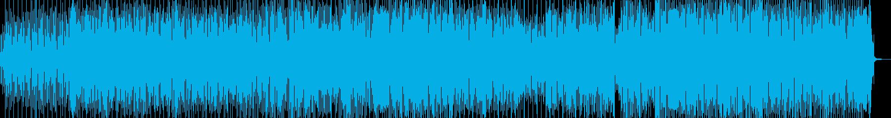 並み足・楽しいカントリーポップス 長尺の再生済みの波形