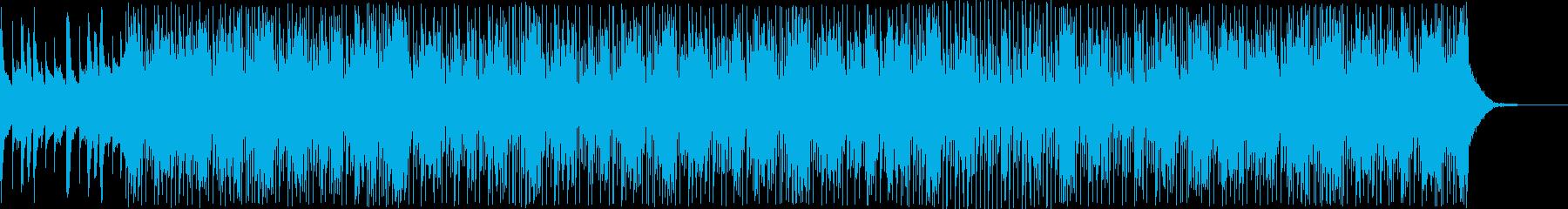 ダンスミュージック寄りのトラップの再生済みの波形