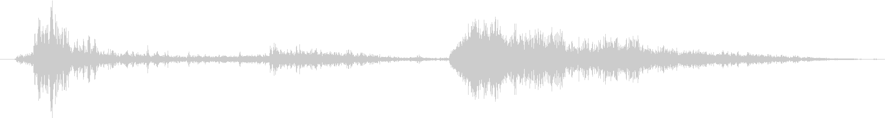 【効果音・SE】雷鳴・サンダーボルト・…の未再生の波形