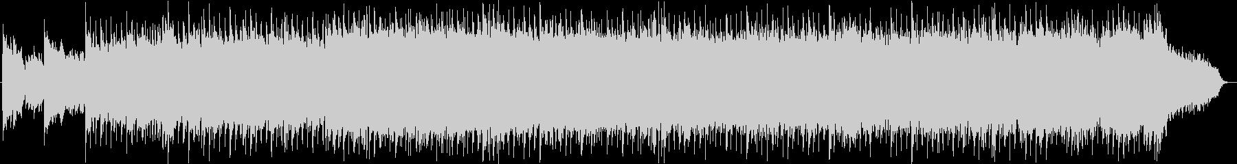ベル系シンセのキラキラ系ポップスの未再生の波形
