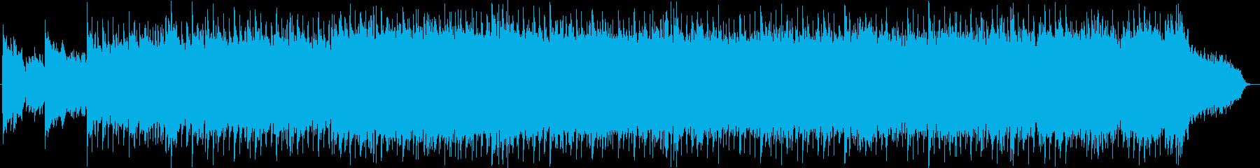 ベル系シンセのキラキラ系ポップスの再生済みの波形