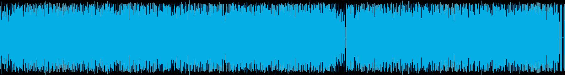 8bitゲーム!ループ可!チップチューンの再生済みの波形