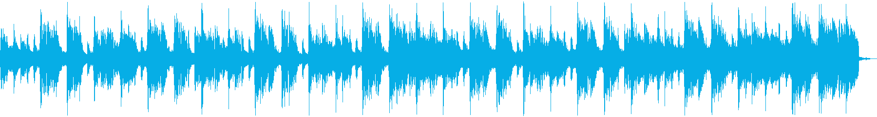 【CM】クールなエレクトロBGM・7の再生済みの波形