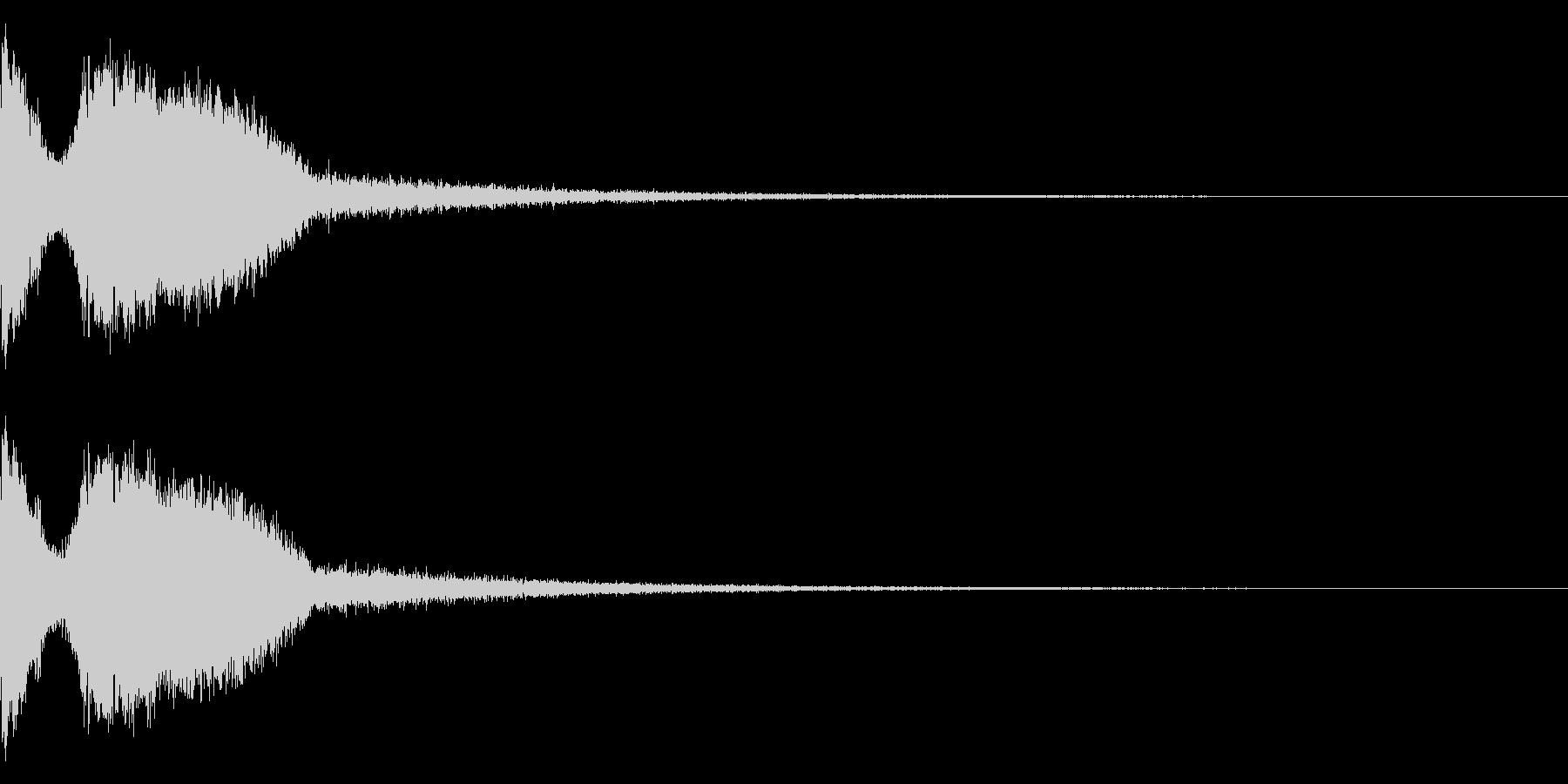 DJFX ヒットチャート発表前SE 1の未再生の波形
