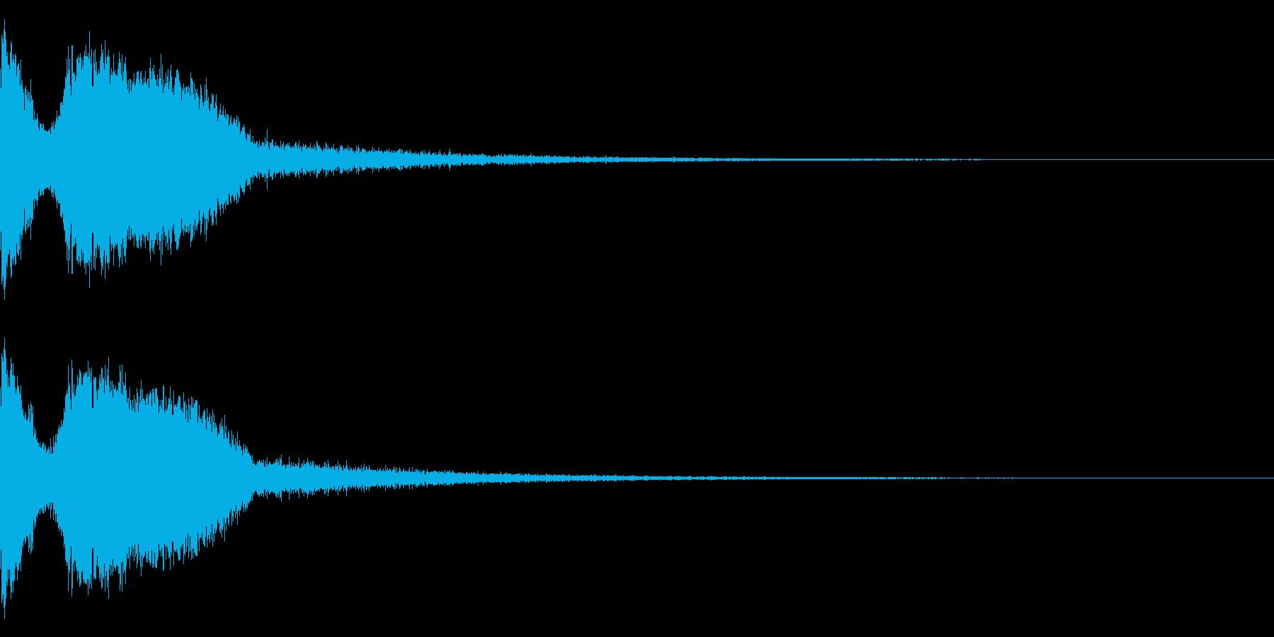 DJFX ヒットチャート発表前SE 1の再生済みの波形