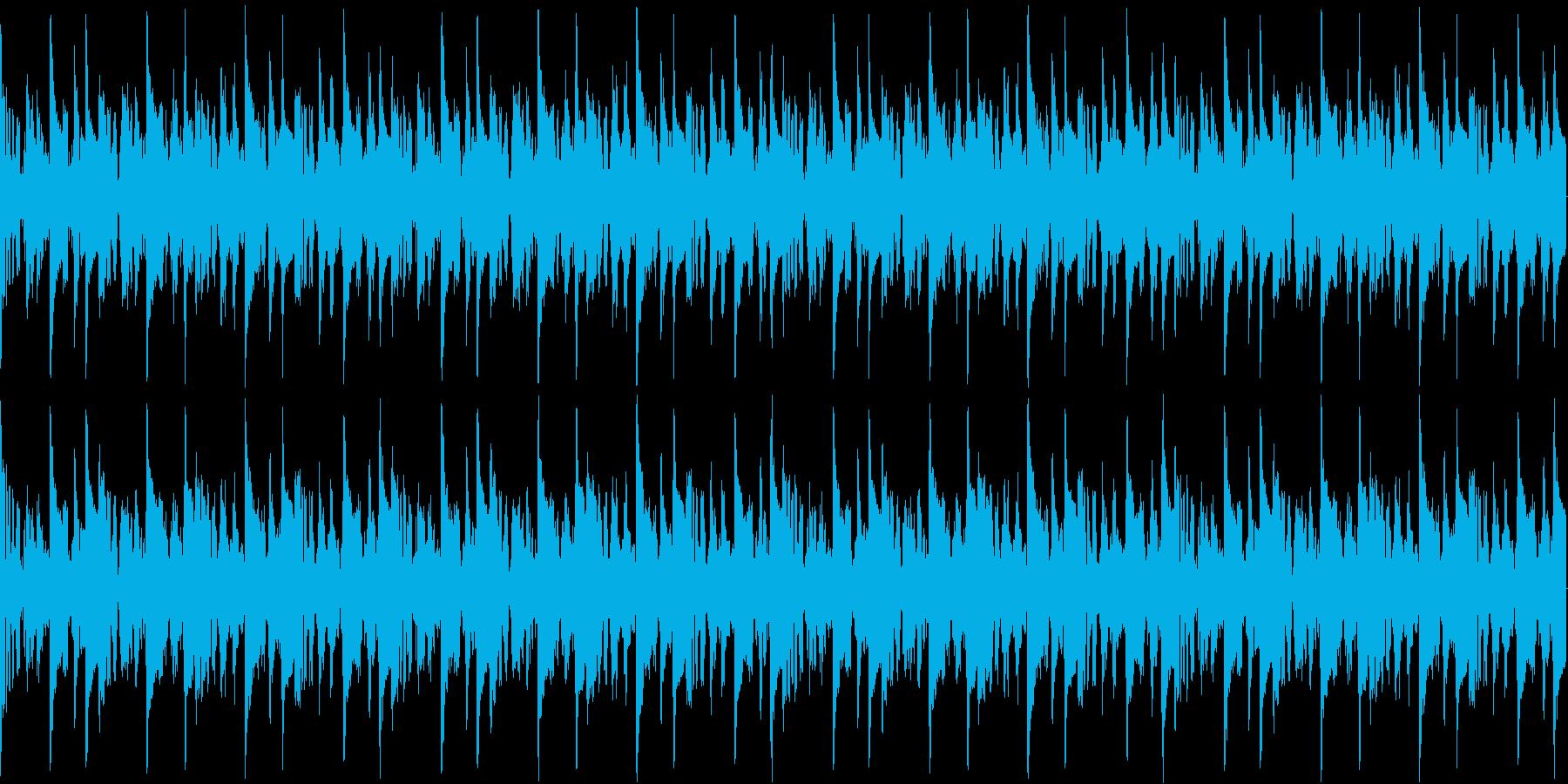 ゲームのプレイ画面用に作成したループB…の再生済みの波形