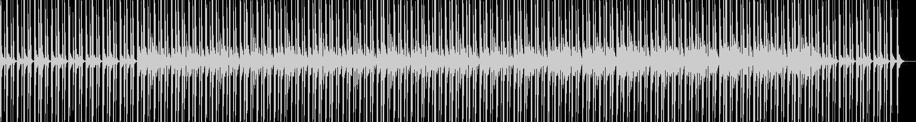 ピアノ エレクトロニカ ミニマルの未再生の波形