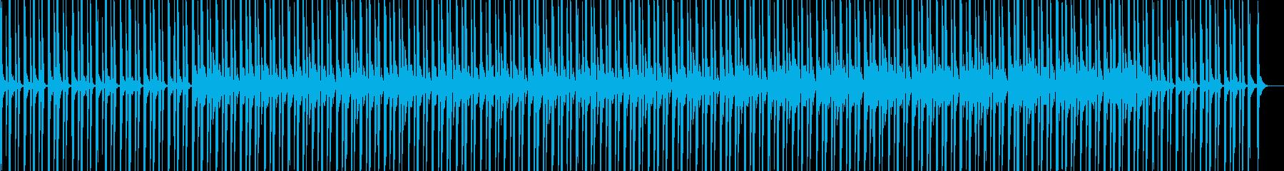 ピアノ エレクトロニカ ミニマルの再生済みの波形
