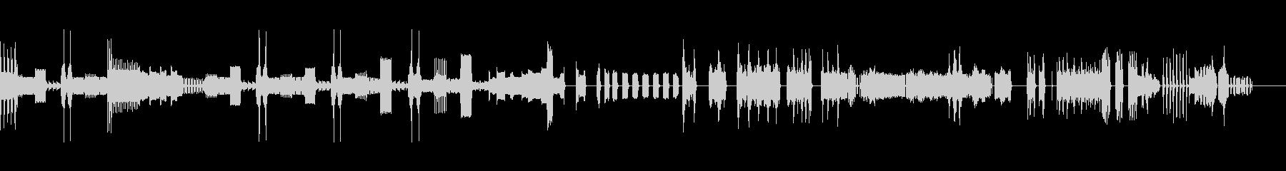 アラームカータイプ1〜6。アラーム...の未再生の波形
