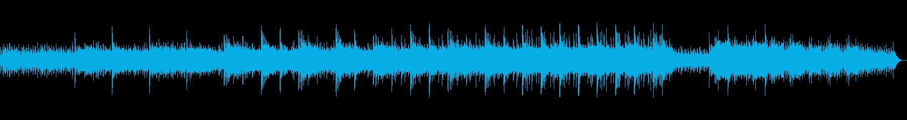 ピアノで癒されるヒーリングミュージックの再生済みの波形