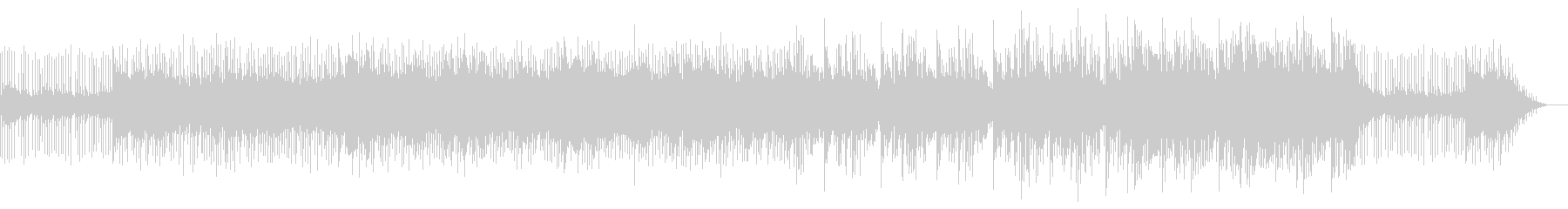謎解きの解説時に適した曲の未再生の波形