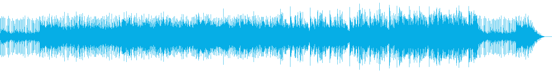 謎解きの解説時に適した曲の再生済みの波形
