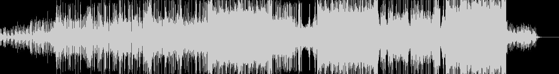 ゲームを盛り上げるエレクトロポップの未再生の波形