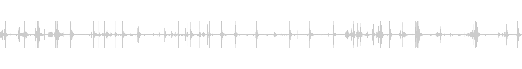 ドアメタルボルトシャットウィグルの未再生の波形