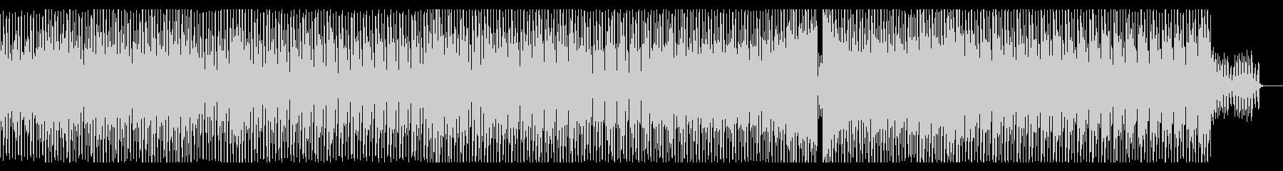 クールかっこいいシンセメロの曲の未再生の波形
