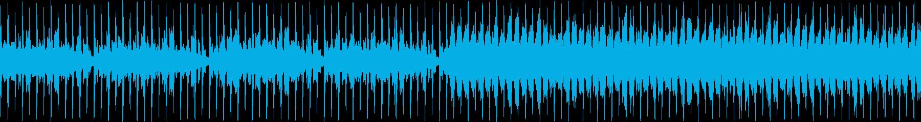 爽やかなシンセサウンド、紹介・宣伝にの再生済みの波形