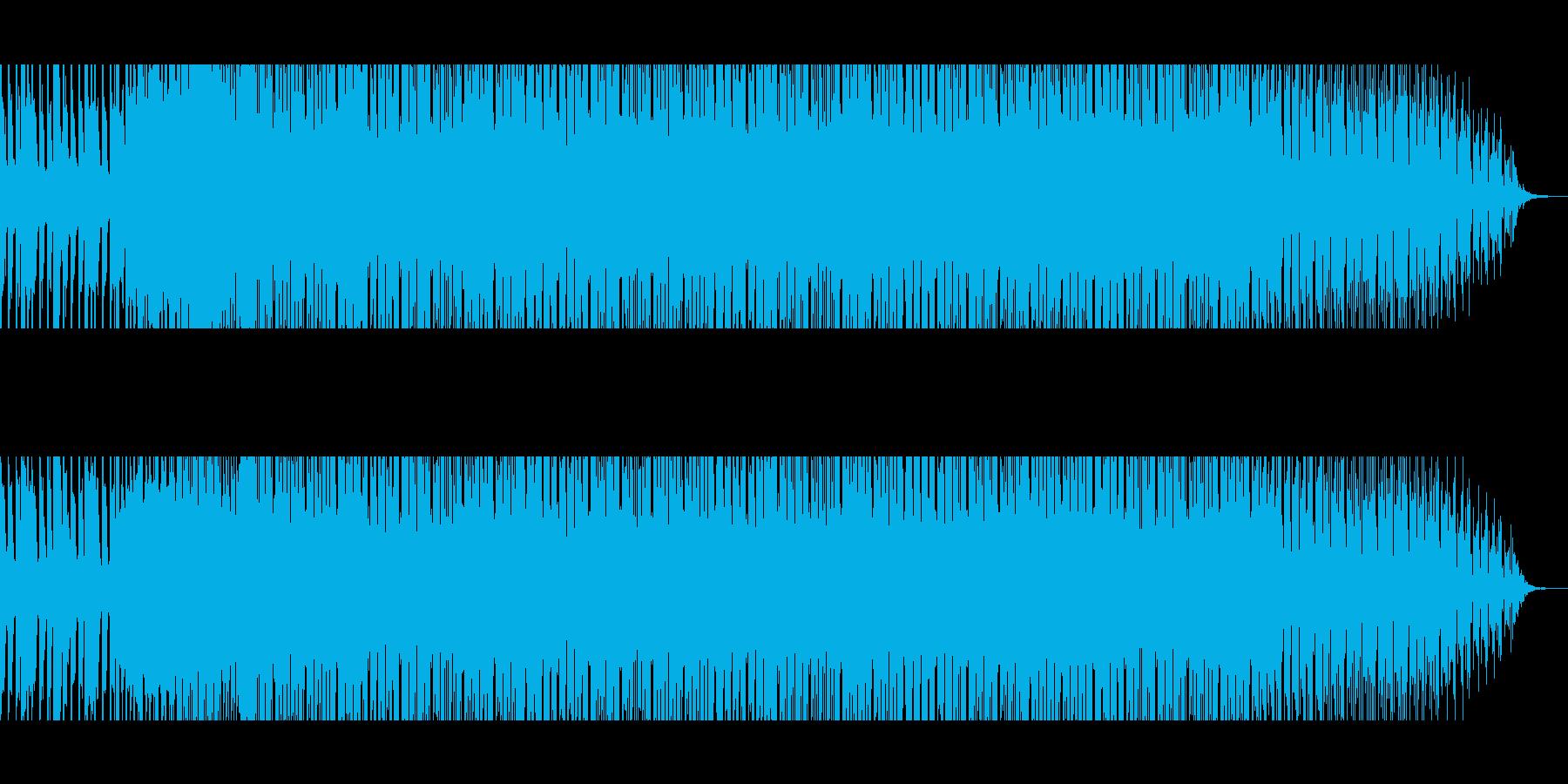 和風 EDM フューチャーベースの再生済みの波形