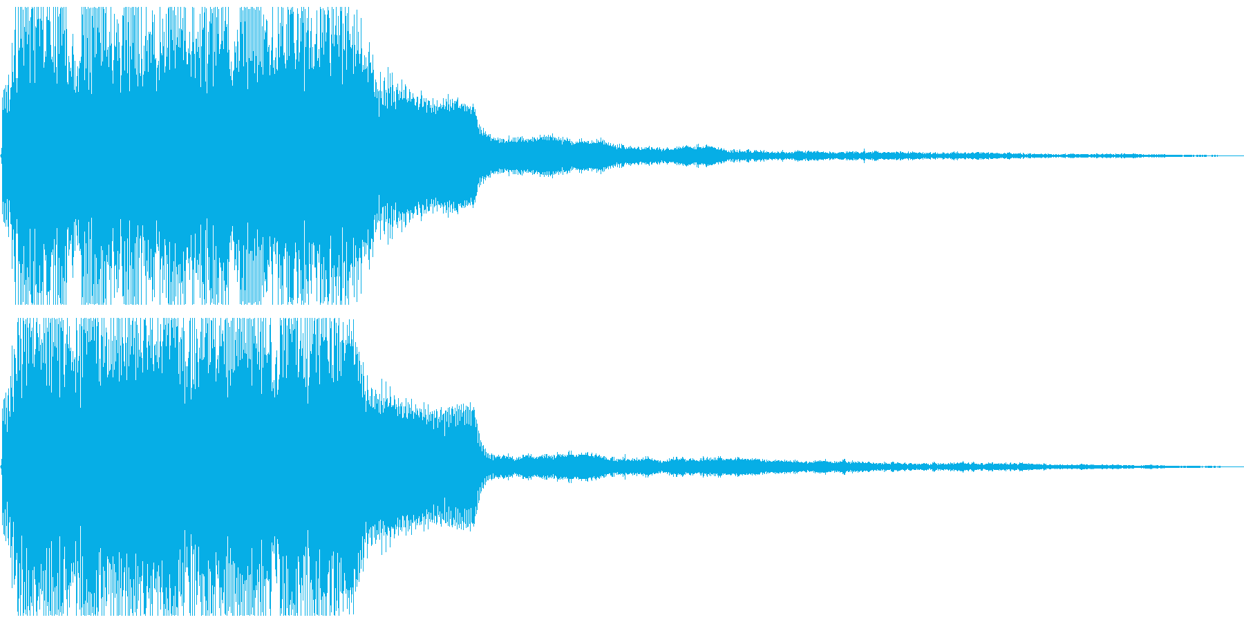 ちょっといいアイテムやコインの取得音の再生済みの波形
