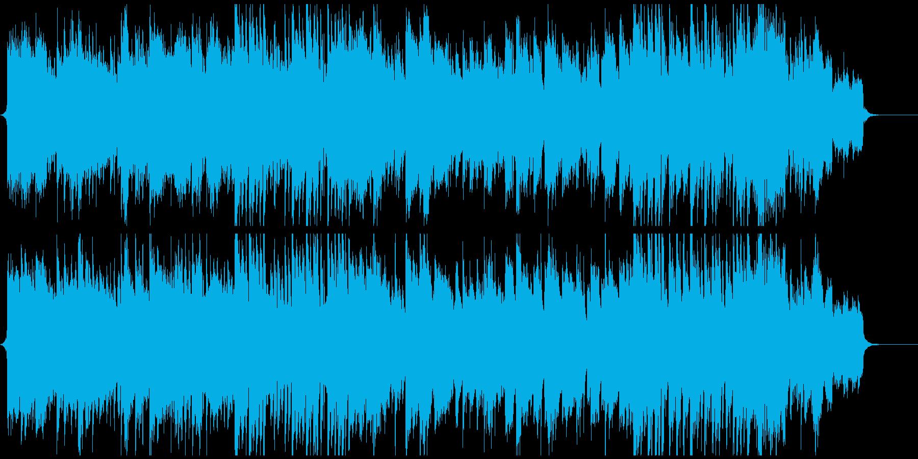 日本の笛、ピアノ、和太鼓、荘厳で切ない曲の再生済みの波形