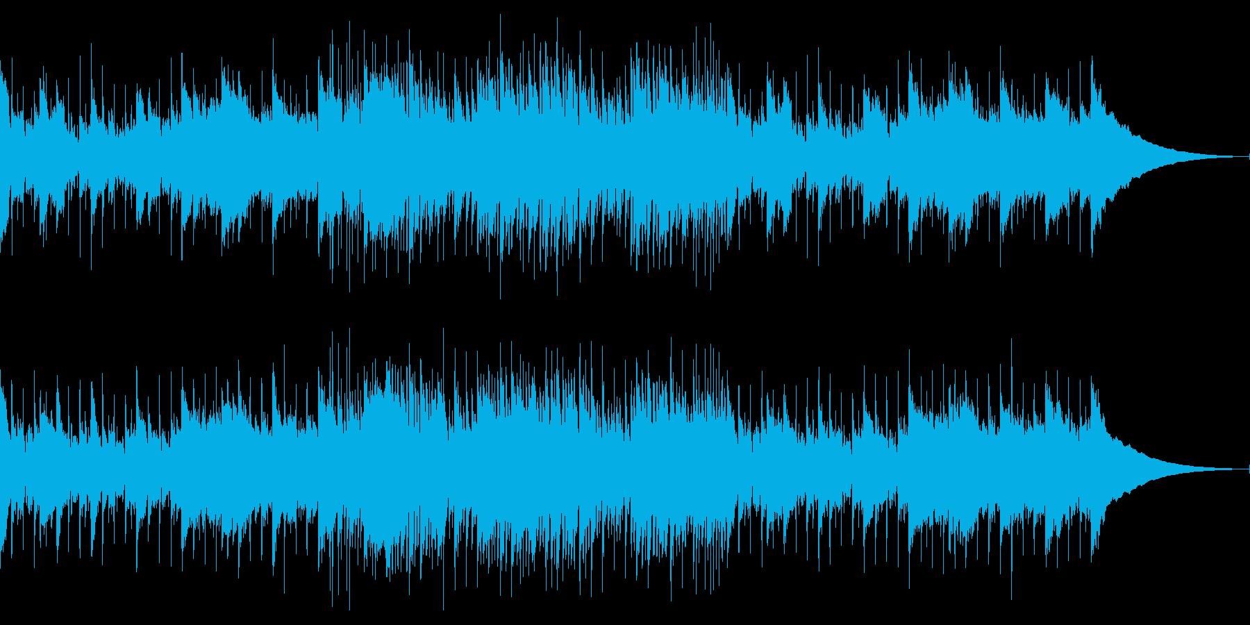生演奏ウクレレ明るいオープニングかわいいの再生済みの波形