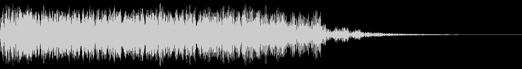 ZAPのグレーティングの未再生の波形