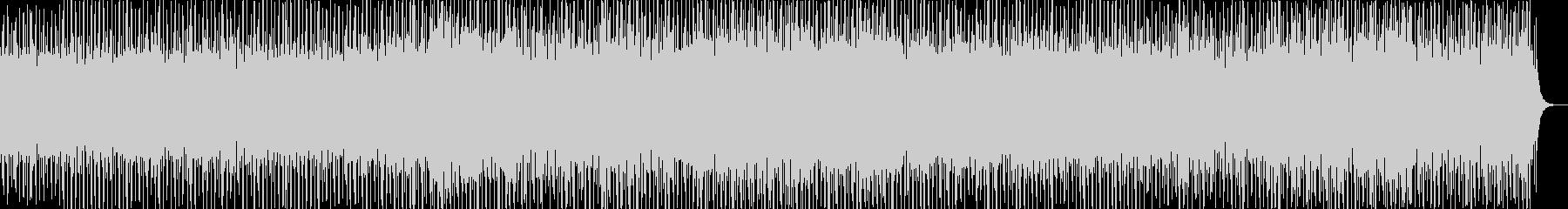 オープニングイメージの希望を感じるBGMの未再生の波形