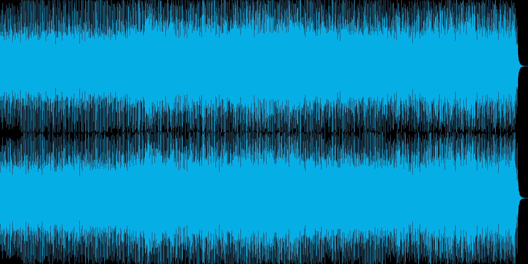 オープニングイメージの希望を感じるBGMの再生済みの波形