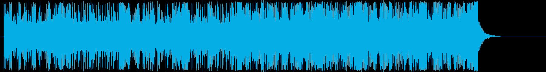 テクノサウンド。クール・神秘的・緊迫。の再生済みの波形