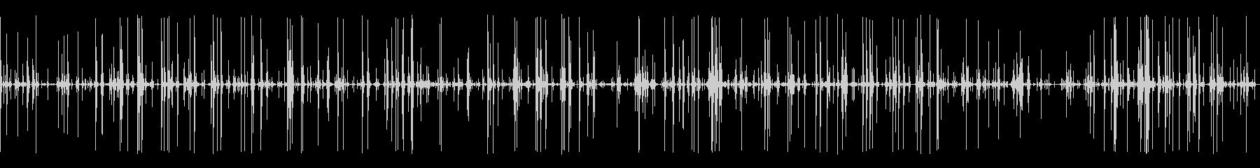 SF的な長い環境音(ピーピピピ)の未再生の波形