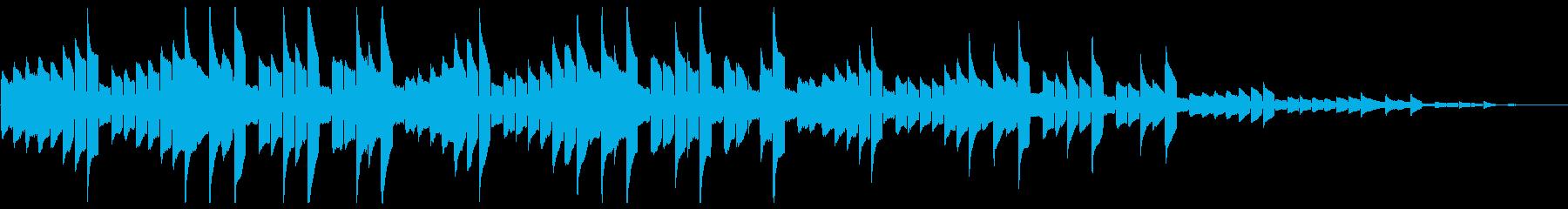 呼び出し 着信音 アラート ブザーの再生済みの波形