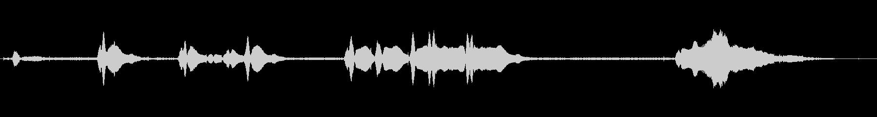 インテグラスタート、複数回転、アイ...の未再生の波形