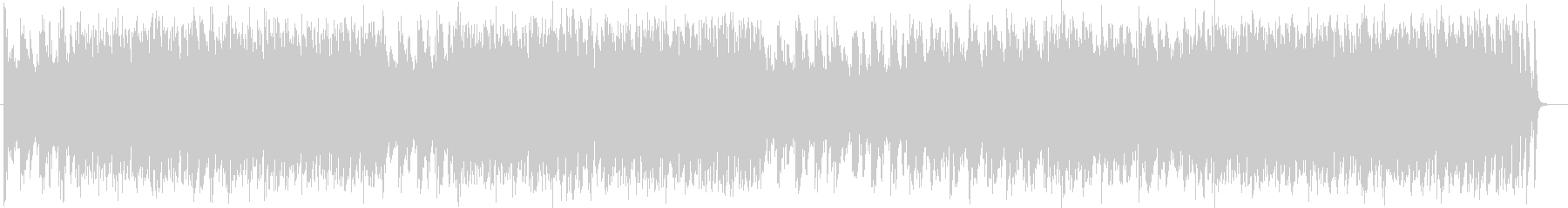 Nearly futuristic melodious synthein song's unreproduced waveform