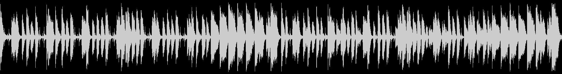ウキウキハッピーなジャズコーラス(ループの未再生の波形