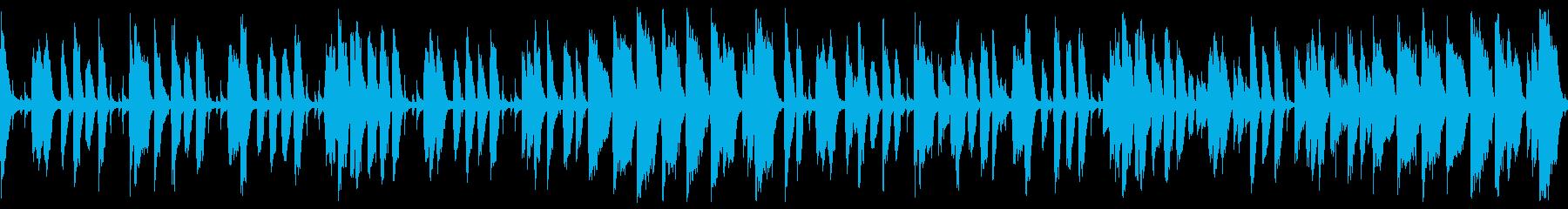 ウキウキハッピーなジャズコーラス(ループの再生済みの波形