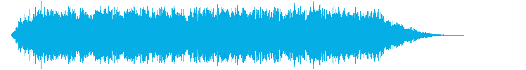 壮大でありトランペットが印象的なBGMの再生済みの波形