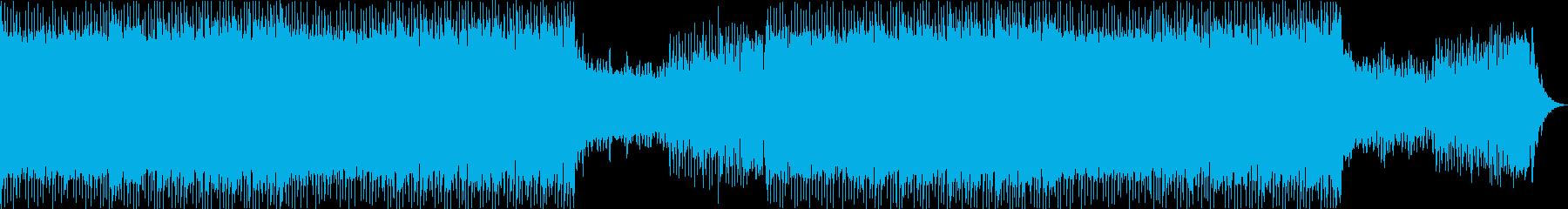 トランス・逃走・スピード感・レースの再生済みの波形