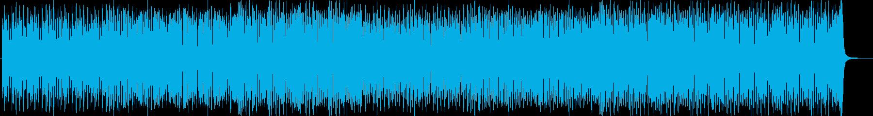 滑稽なサーカス風ハロウィンBGMの再生済みの波形