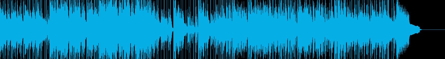 街で遊びまわるシーンに合う日常系BGMの再生済みの波形
