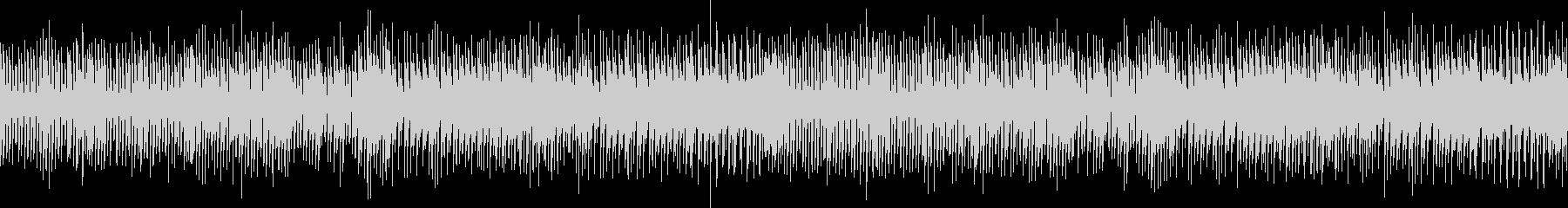 パズルやシューティングゲームに合う曲の未再生の波形