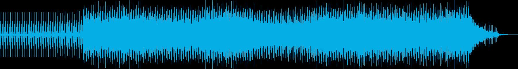 ミニマルテクノ、シンプルで単調なダンス系の再生済みの波形