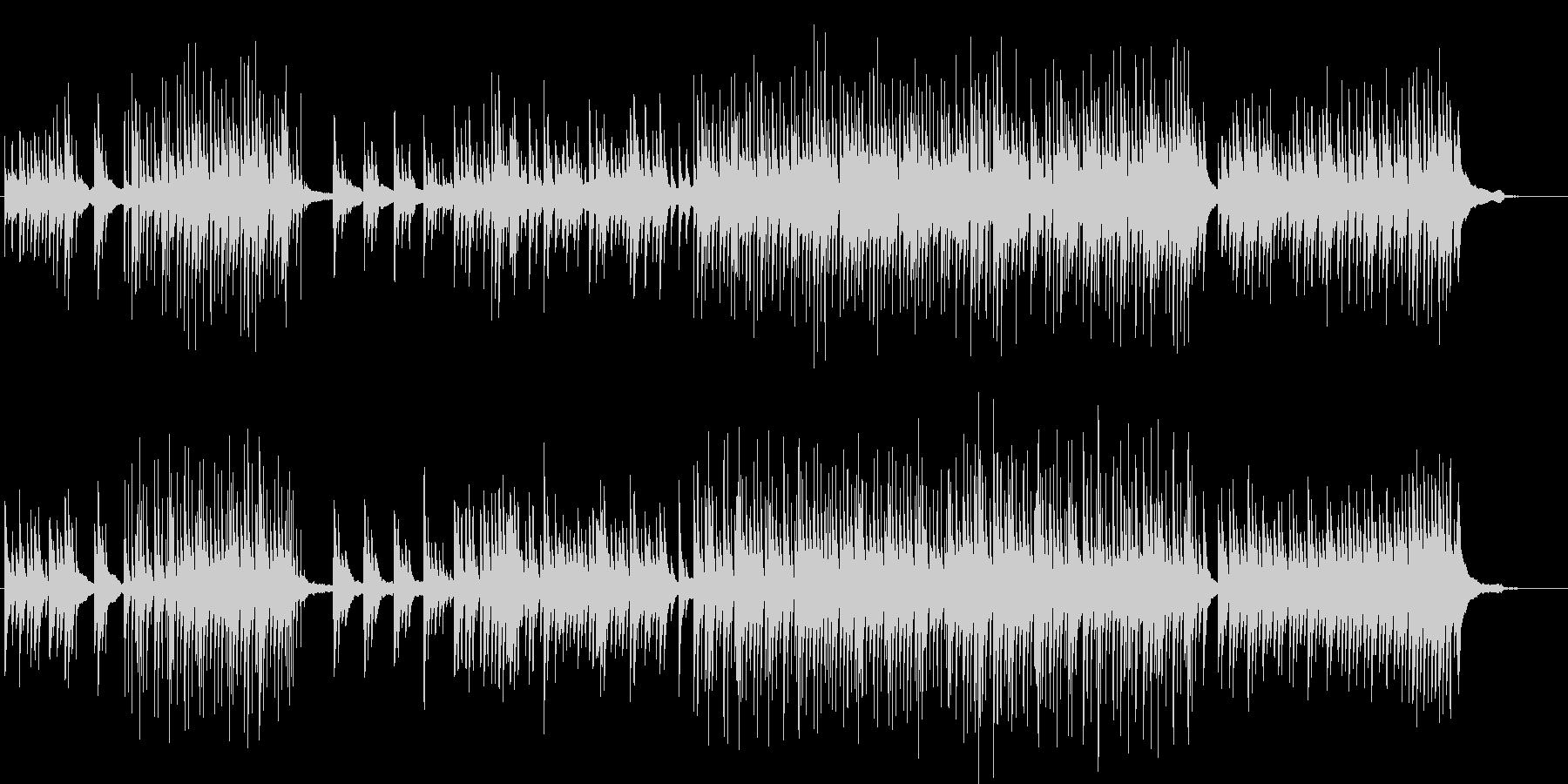 美しくミステリアスなピアノ曲の未再生の波形