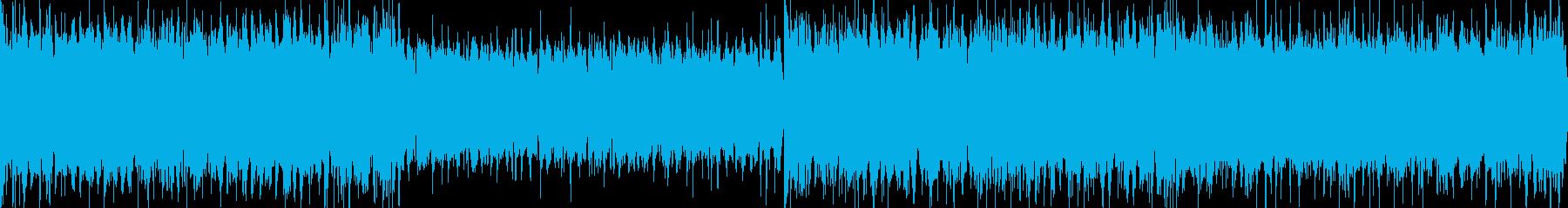 【ループ】派手で豪華なお城風BGMの再生済みの波形
