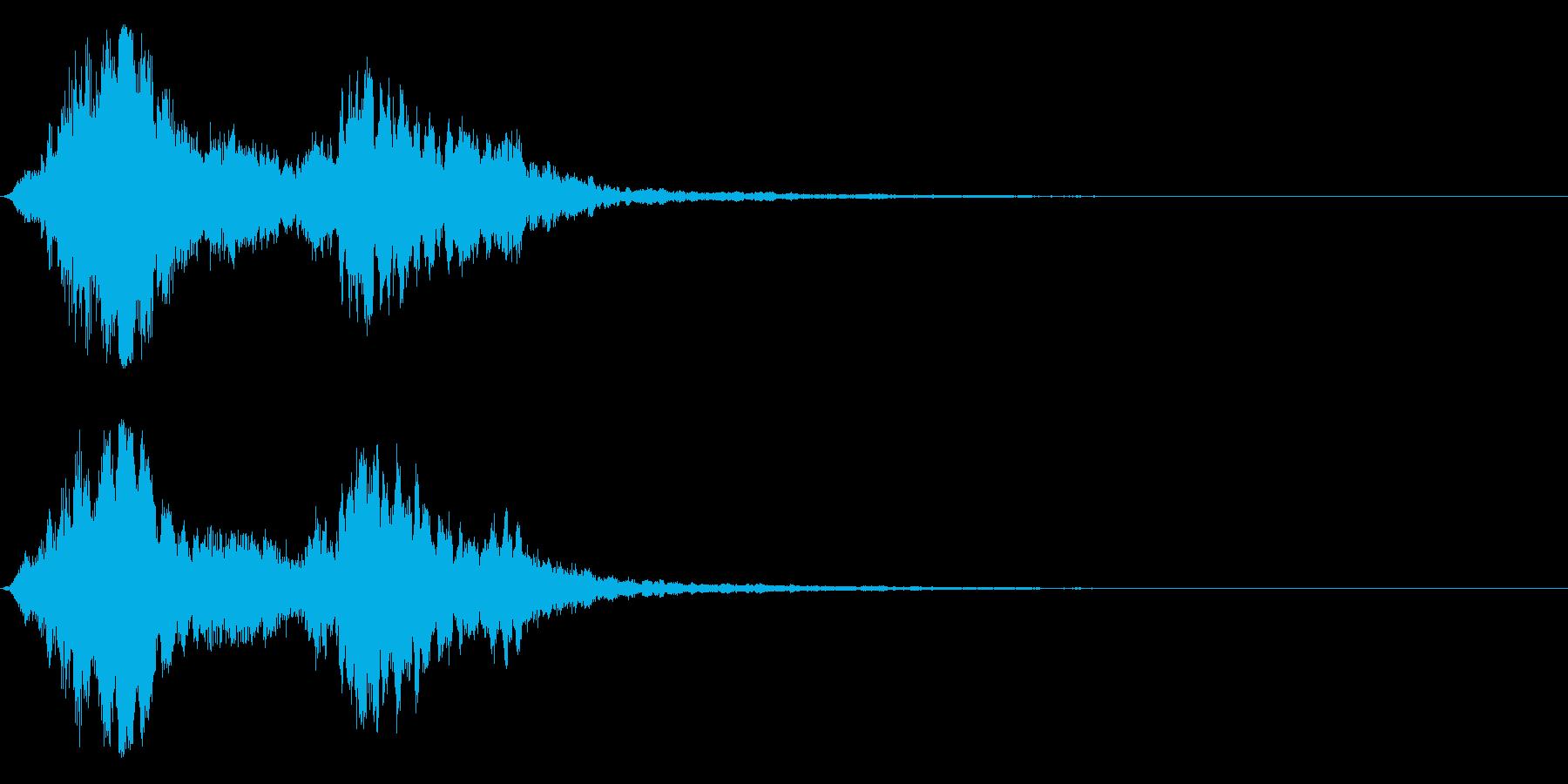 シャキーン キラーン☆強烈な輝き!17bの再生済みの波形