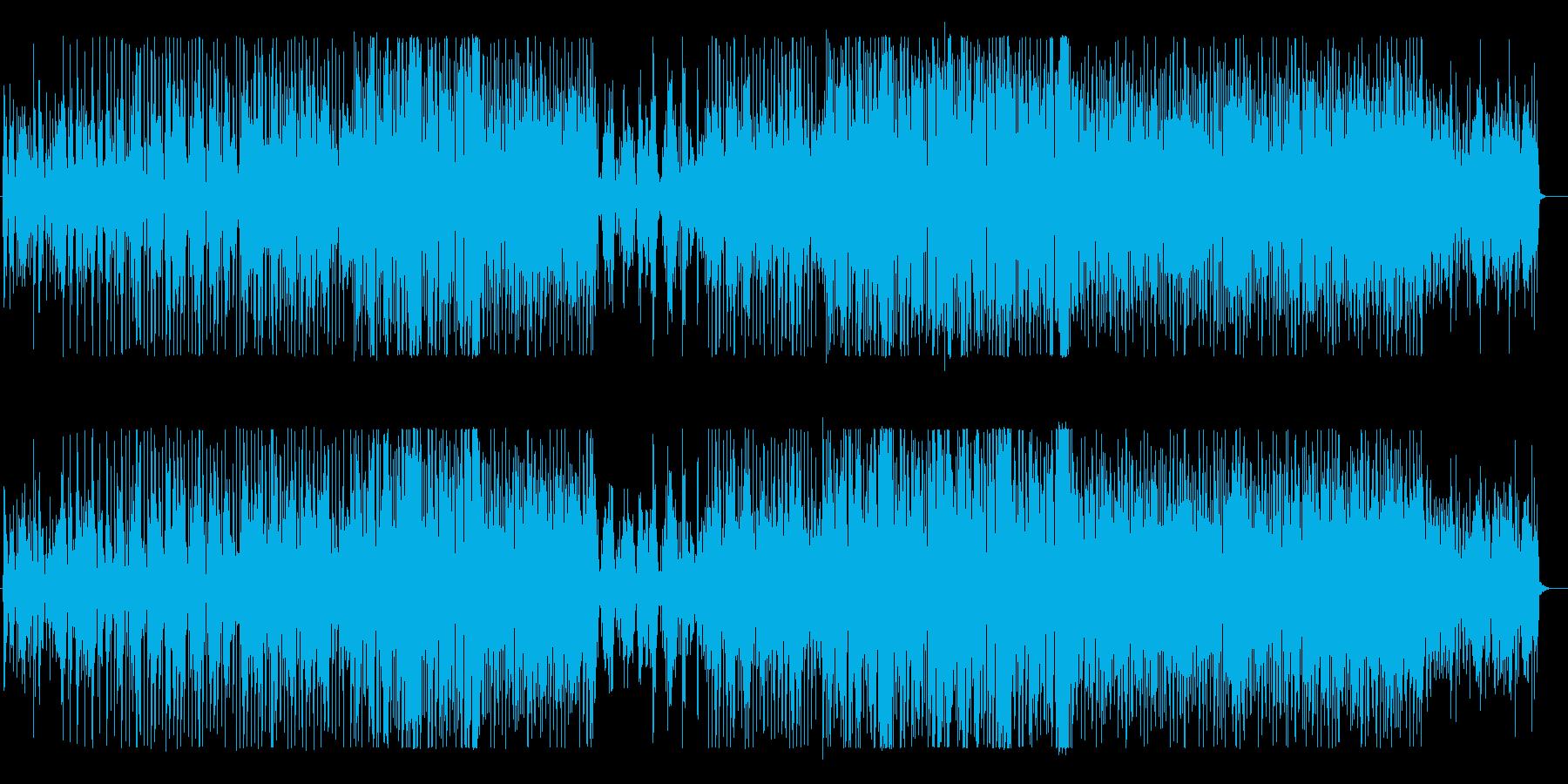 生バイオリンのおしゃれな大人シティポップの再生済みの波形