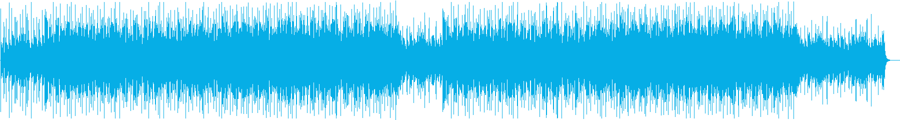 Near future pop with bright sunshine's reproduced waveform