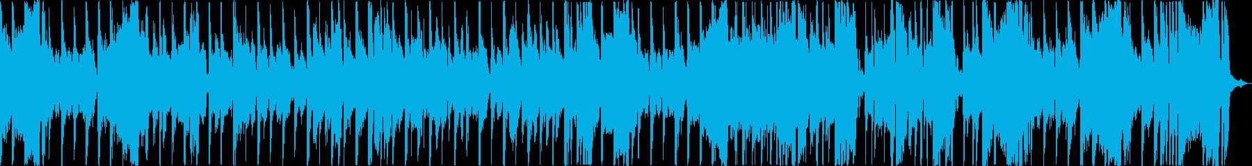 パワフルなブラスセクションとキック...の再生済みの波形