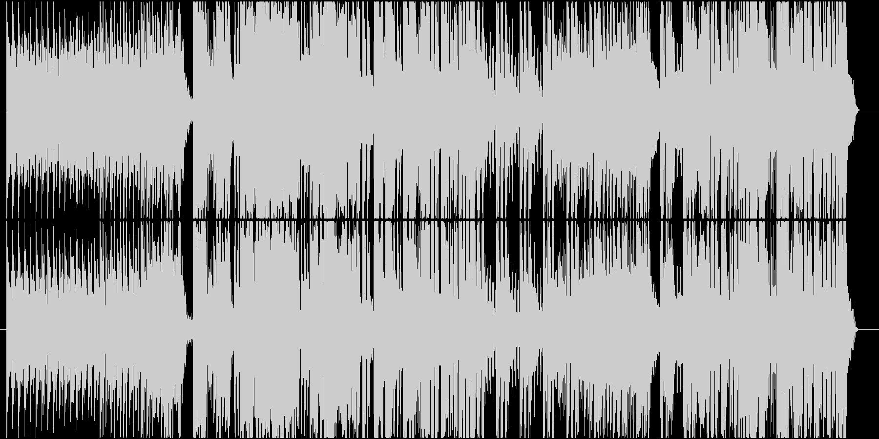 EDM・エレクトロニックロックの未再生の波形